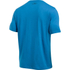 Under Armour Men's Sportstyle Left Chest Logo T-Shirt - Brilliant Blue/Nova Teal: Image 2