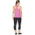 Under Armour Women's HeatGear Armour Racer Tank - Verve Violet/Metallic Silver: Image 5