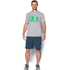 Under Armour Men's Stack Attack Short Sleeve T-Shirt - True Grey Heather: Image 3