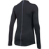Under Armour Women's ColdGear Armour Mock Long Sleeve Shirt - Black: Image 2
