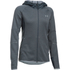 Under Armour Women's Swacket Full Zip Hoody - Stealth Grey: Image 1