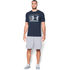 Under Armour Men's Stack Attack Short Sleeve T-Shirt - Midnight Navy: Image 3