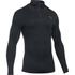 Under Armour Men's ColdGear Infrared Elements 1/4 Zip Long Sleeve Shirt - Black: Image 1