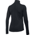 Under Armour Women's ColdGear Armour 1/2 Zip Long Sleeve Shirt - Black: Image 2