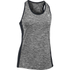 Under Armour Women's Colorblock Tech Tank - Black: Image 1