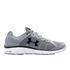 Under Armour Men's Micro G Assert 6 Running Shoes - Steel/White/Black: Image 1