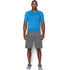 Under Armour Men's Armour HeatGear Short Sleeve Training T-Shirt - Brilliant Blue/Stealth Grey: Image 3