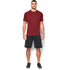 Under Armour Men's Tech Short Sleeve T-Shirt - Red/Black: Image 3