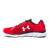 Under Armour Men's Micro G Assert 6 Running Shoes - Red/Black/White: Image 3
