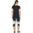 Under Armour Women's Favorite Big Logo Short Sleeve T-Shirt - Black/White: Image 5