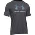 Under Armour Men's Sportstyle Logo T-Shirt - Black/Steel/Stealth Grey: Image 1