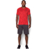 Under Armour Men's Jacquard Tech Short Sleeve T-Shirt - Red: Image 3