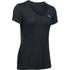 Under Armour Women's Jacquard Tech Short Sleeve T-Shirt - Black: Image 1