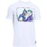 Under Armour Men's Retro Batman Short Sleeve T-Shirt - White: Image 1