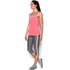 Under Armour Women's HeatGear Armour Racer Tank - Brilliant Pink/Metallic Silver: Image 4