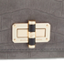 Diane von Furstenberg Women's Gallery Uptown Embossed Croc Clutch Bag - Slate: Image 3