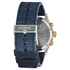 Nixon The Sentry Chrono Leather Watch - Gold/Blue Sunray: Image 3