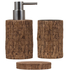 Sorema Woody Bathroom Accessories (Set of 3): Image 1