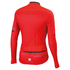 Sportful Gruppetto Thermal Long Sleeve Jersey - Red: Image 2