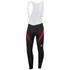 Sportful Men's Giro 2 Bib Tights - Black/Red: Image 1