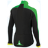 Sportful Force Thermal Long Sleeve Jersey - Black/Green: Image 2