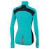 Sportful Women's Fiandre Light NoRain Long Sleeve Jersey - Turquoise: Image 2