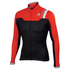 Sportful BodyFit Pro Windstopper Jacket - Black/Red: Image 1
