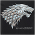 Game of Thrones Mens Stark Sigil T-Shirt - Zwart: Image 3
