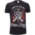 The Walking Dead Men's Grimes & Dixon T-Shirt - Black: Image 1