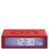 Lexon Flip Clock - Red: Image 1