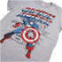 Marvel Men's Captain America Retro T-Shirt - Sports Green: Image 2