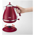 De'Longhi Elements Kettle - Red: Image 2