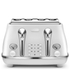 De'Longhi Elements Four Slice Toaster - White: Image 1