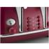 De'Longhi Elements Four Slice Toaster - Red: Image 4