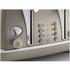 De'Longhi Elements Four Slice Toaster - Beige: Image 4