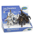 Papo Medieval Era: Display Box Weapons Knight Bull and Unicorn: Image 1