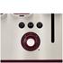 Tefal Maison TT7705UK Stainless Steel 4 Slice Toaster - Pomegranate Red: Image 6