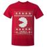 Namco Men's Merry Pac-Man Christmas T-Shirt - Red: Image 1