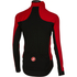 Castelli Alpha Long Sleeve Jersey - Red/Black: Image 2