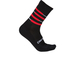 Castelli Incendio 15 Cycling Socks - Black/Red: Image 1