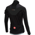 Castelli Trasparente 3 Wind Long Sleeve Jersey - Black/Grey: Image 2