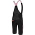 Castelli Omloop Thermal Bib Shorts - Black/Red: Image 2