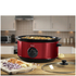 Swan SF17030ROUN 6.5L Slow Cooker - Rouge: Image 2