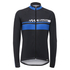 Santini Pilot Thermofleece Long Sleeve Jersey - Blue: Image 2