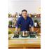 Jamie Oliver by Tefal Stainless Steel Wok & Glass Pan Lid - 28cm: Image 4
