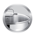 Jamie Oliver by Tefal Stainless Steel 3 Piece Frying Pan Set - 24cm, 25cm & 28cm: Image 7
