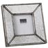Parlane Square Deco Resin Frame - Silver (19.5 x 19.5cm): Image 1