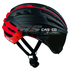 Casco Speedairo RS Helmet with Vautron Visor - Black/Red: Image 1