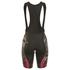 Alé Women's PRR Roubaix Camo Bib Shorts - Black/Red: Image 2