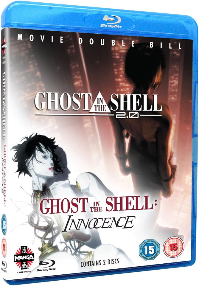 Ghost In The Shell 2 0 Ghost In The Shell Innocence Blu